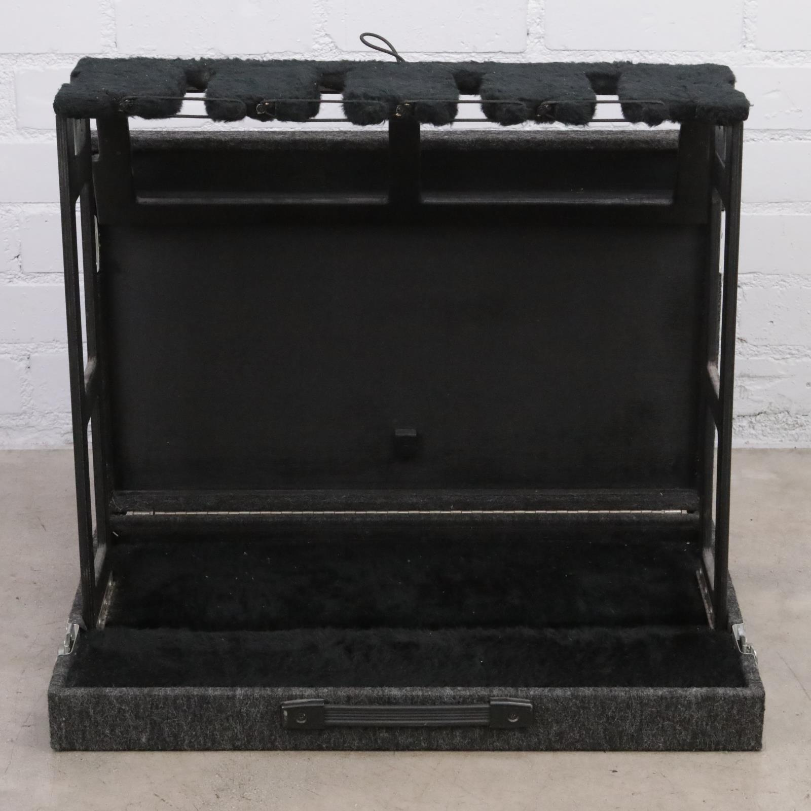 Ultracase GSX-4 Four Rack Collapsible Guitar Stand Owned By David Roback #44708