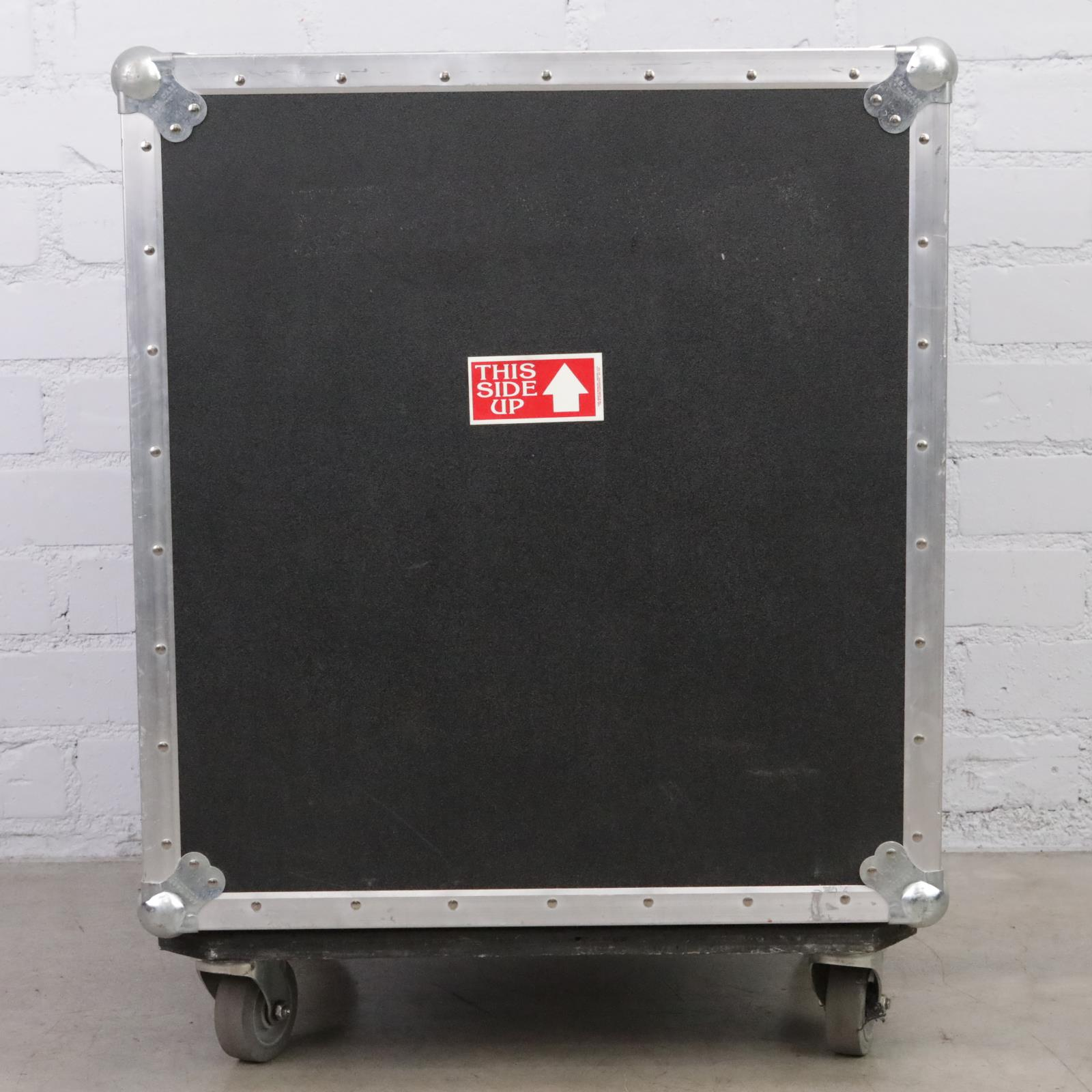 A&S 12 Space 12U Flight Road Tour Shock Rack Case Owned By David Roback #44758