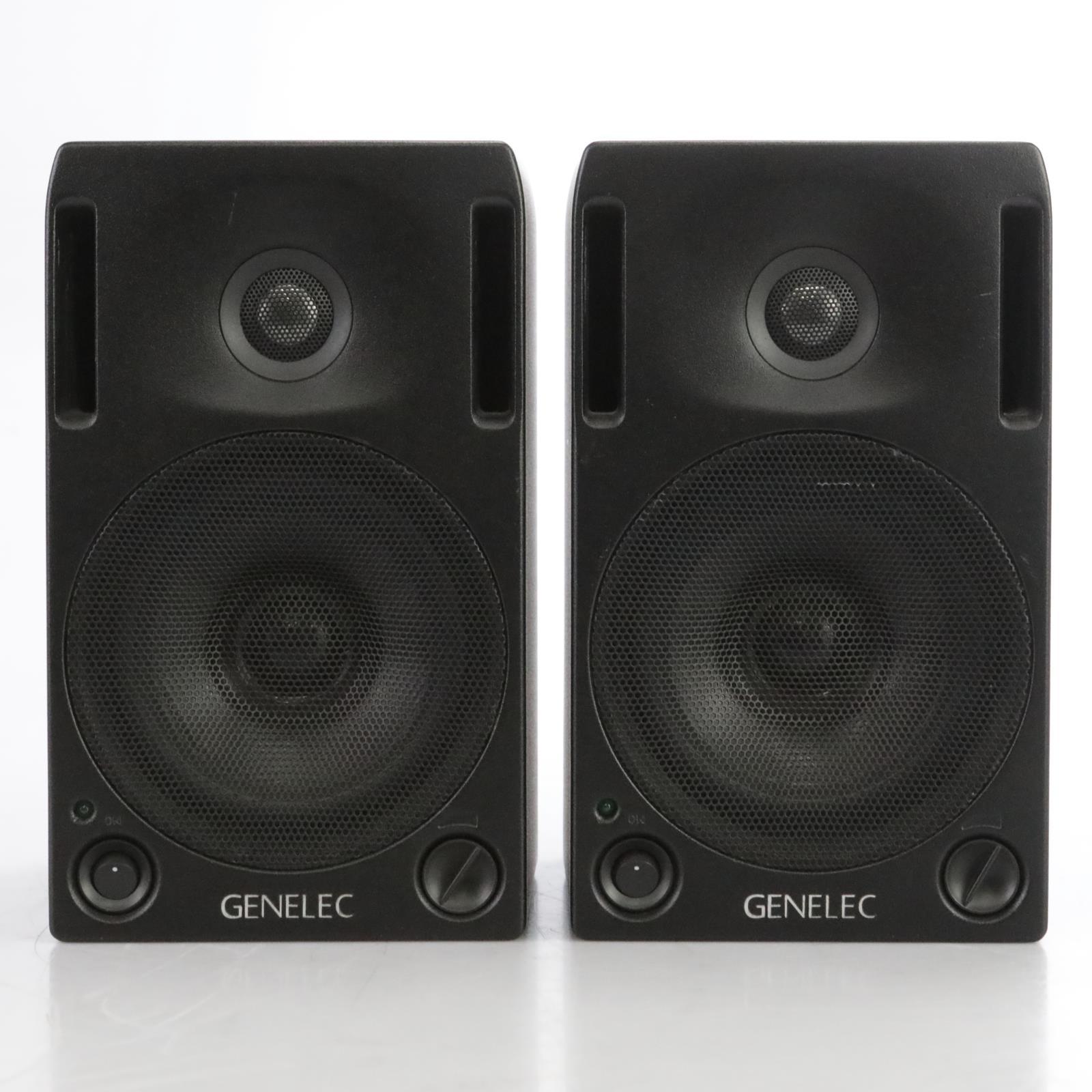 Genelec 1029A  Powered Studio Monitors w/Mogami XLR Owned By David Roback #44753