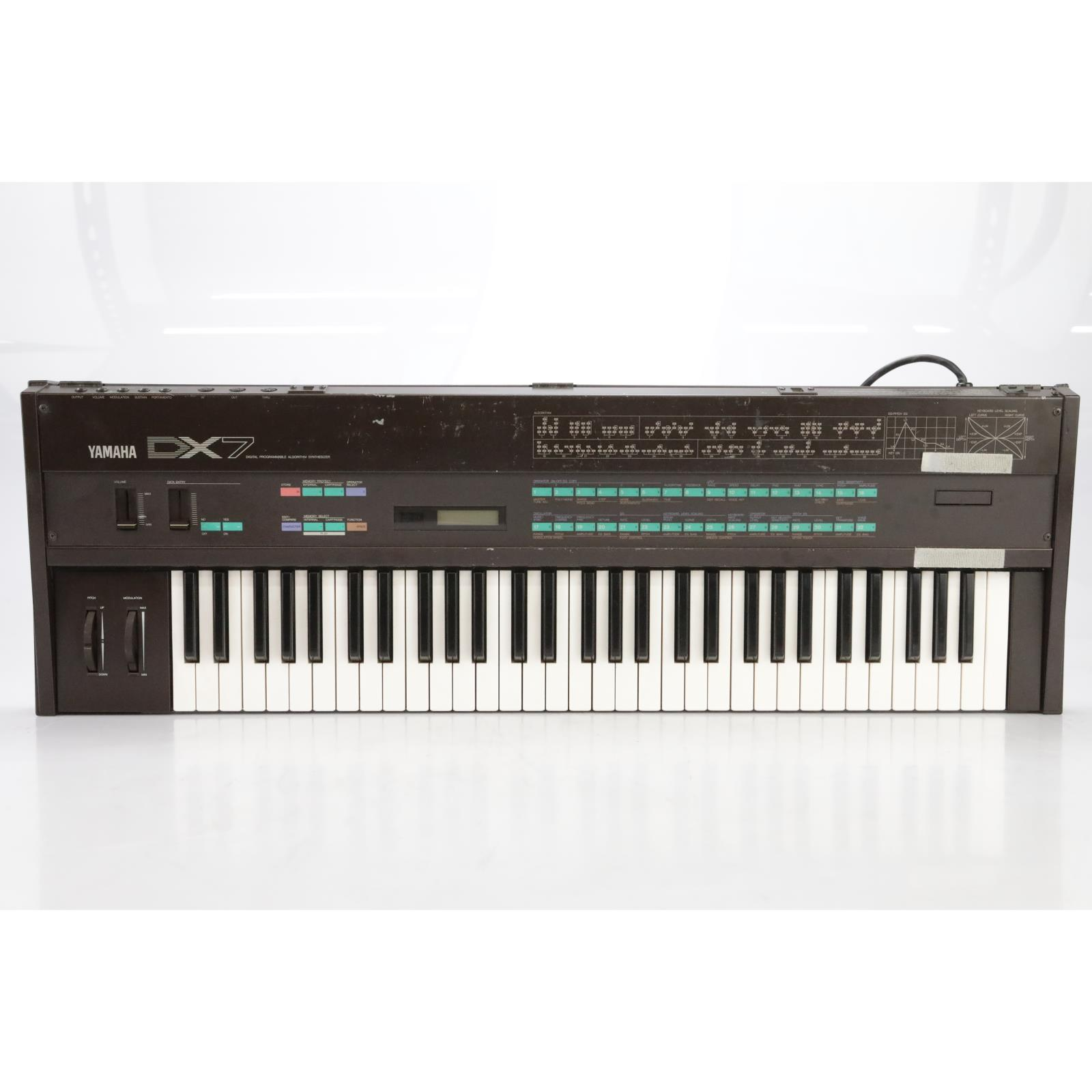 Yamaha DX7 61-Key Digital Synthesizer w/ ATS Case Owned By David Roback #44728