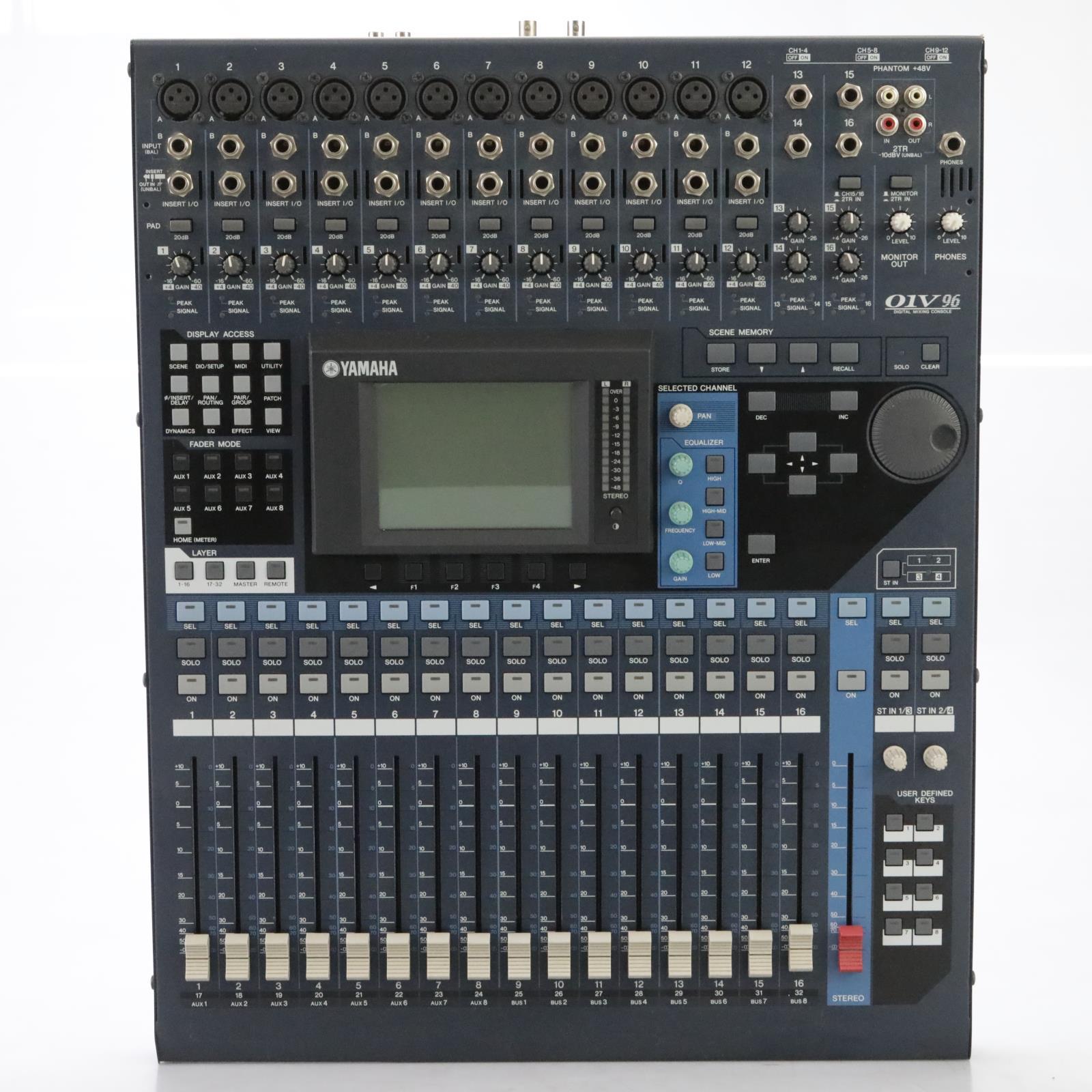 Yamaha 01V96 V2 Digital Console w/ MY16AT & EXTRAS! 220V David Roback #44810