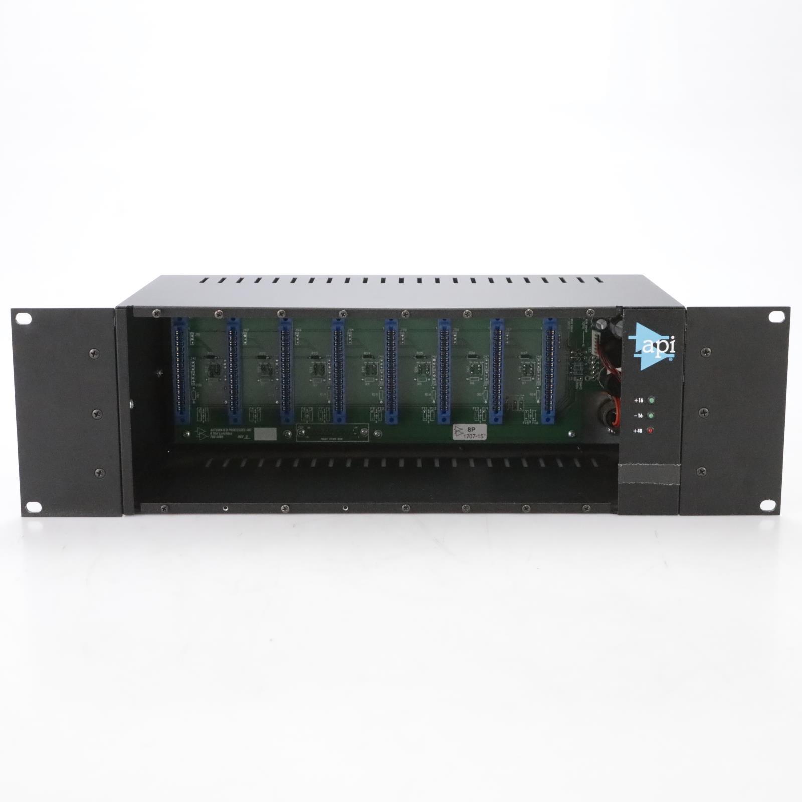 API 500-8 8-Slot 500 Series Lunchbox w/ Power Supply #44848