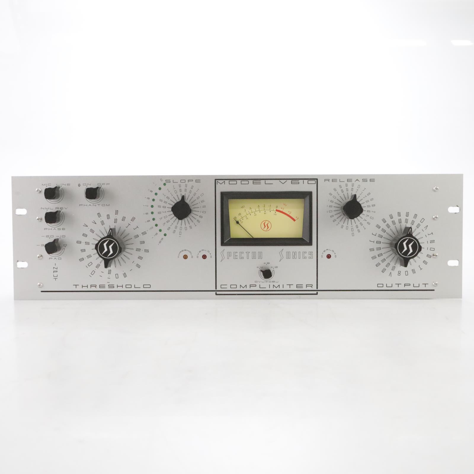Spectra Sonics Model V610 Complimiter Compressor Limiter #44717