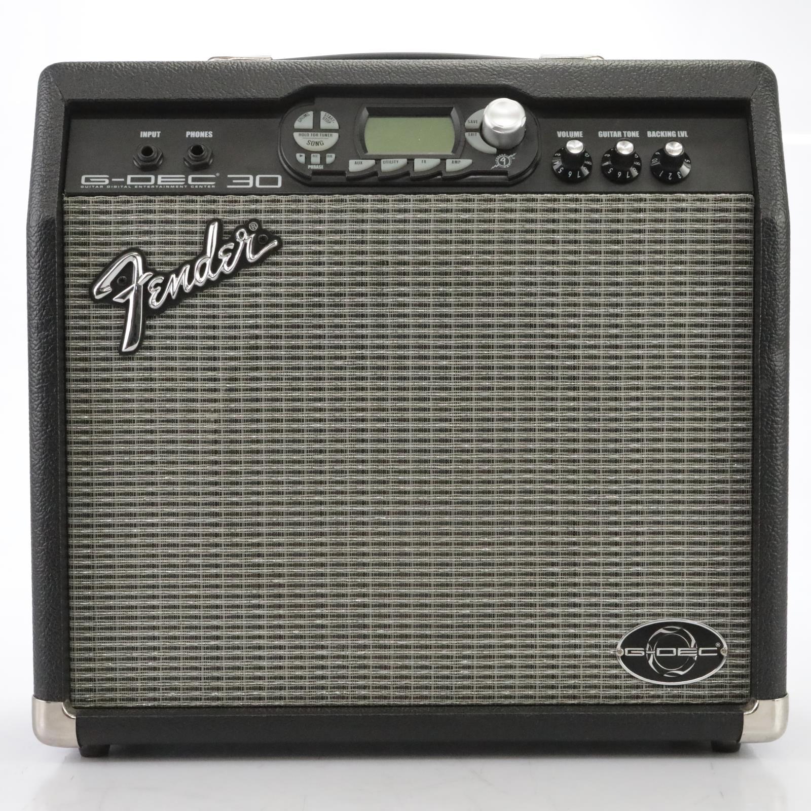 "Fender G-Dec 30 1x10"" Digital Guitar Combo Amp w/ Fender ULT-4 Footswitch #44847"