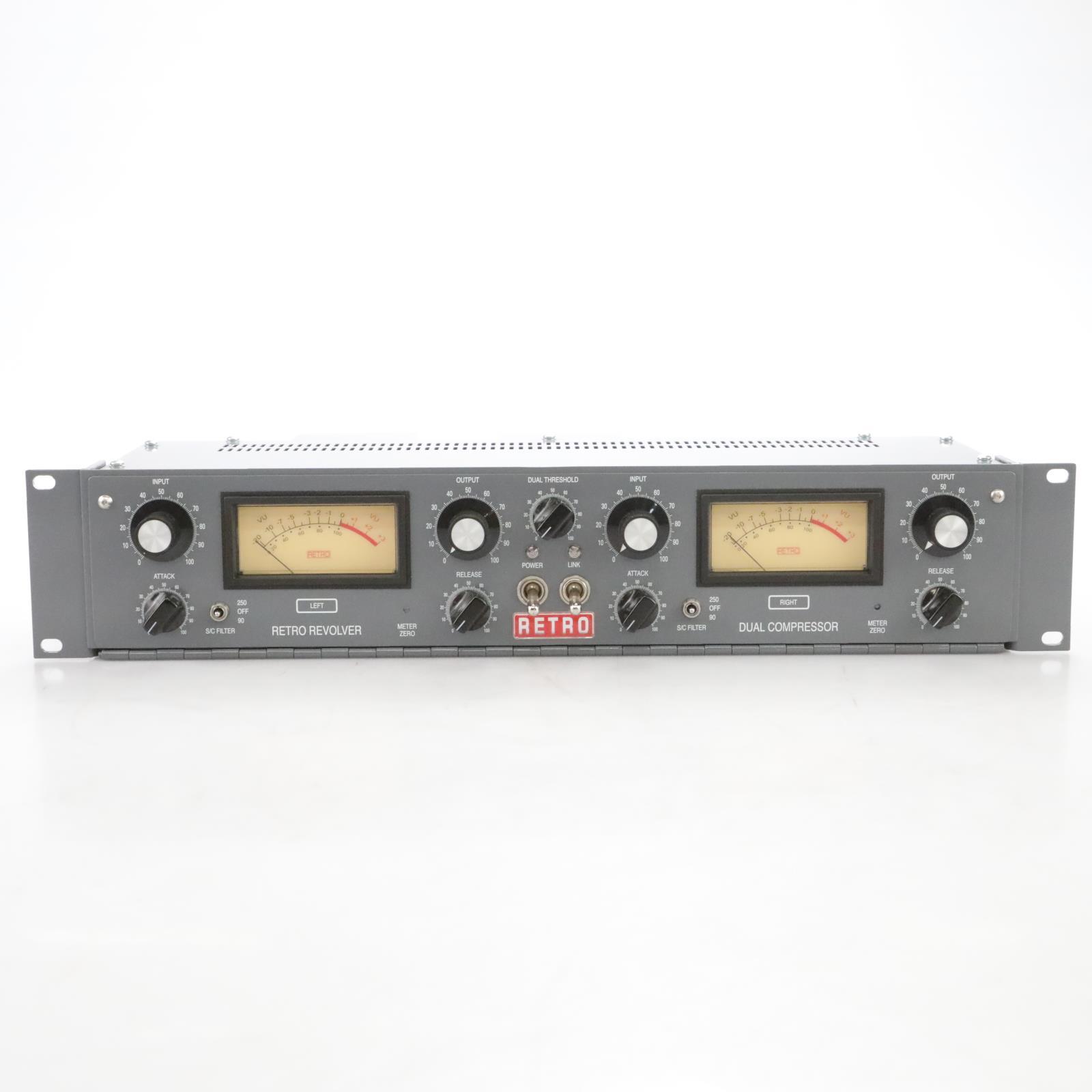 Retro Instruments Retro Revolver 2-Channel Tube Compressor #44716