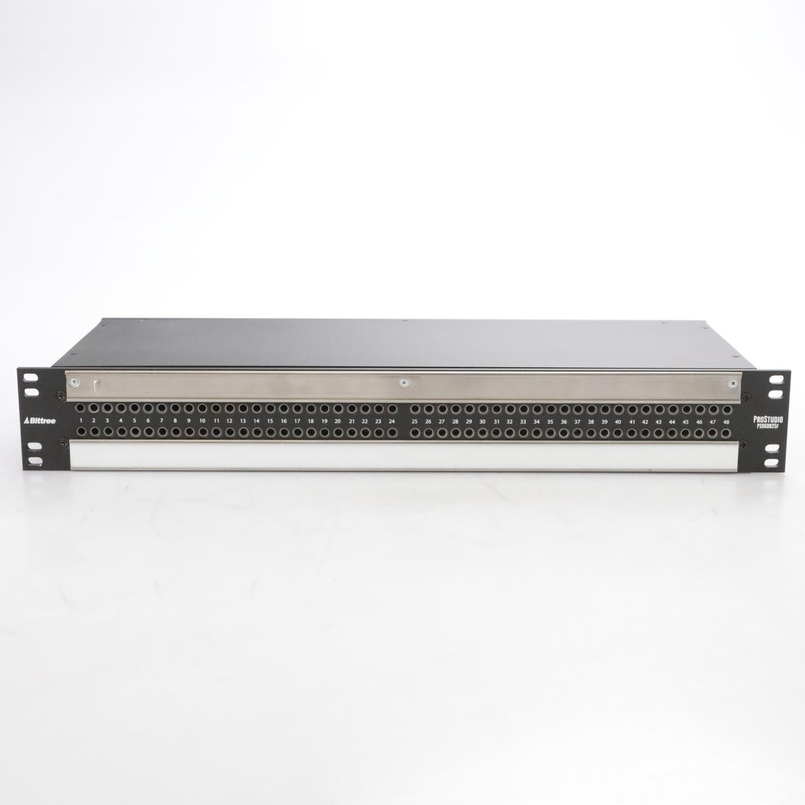 Bittree ProStudio PS96DB25F 96-Point Bantam TT DB25 Patchbay #44719