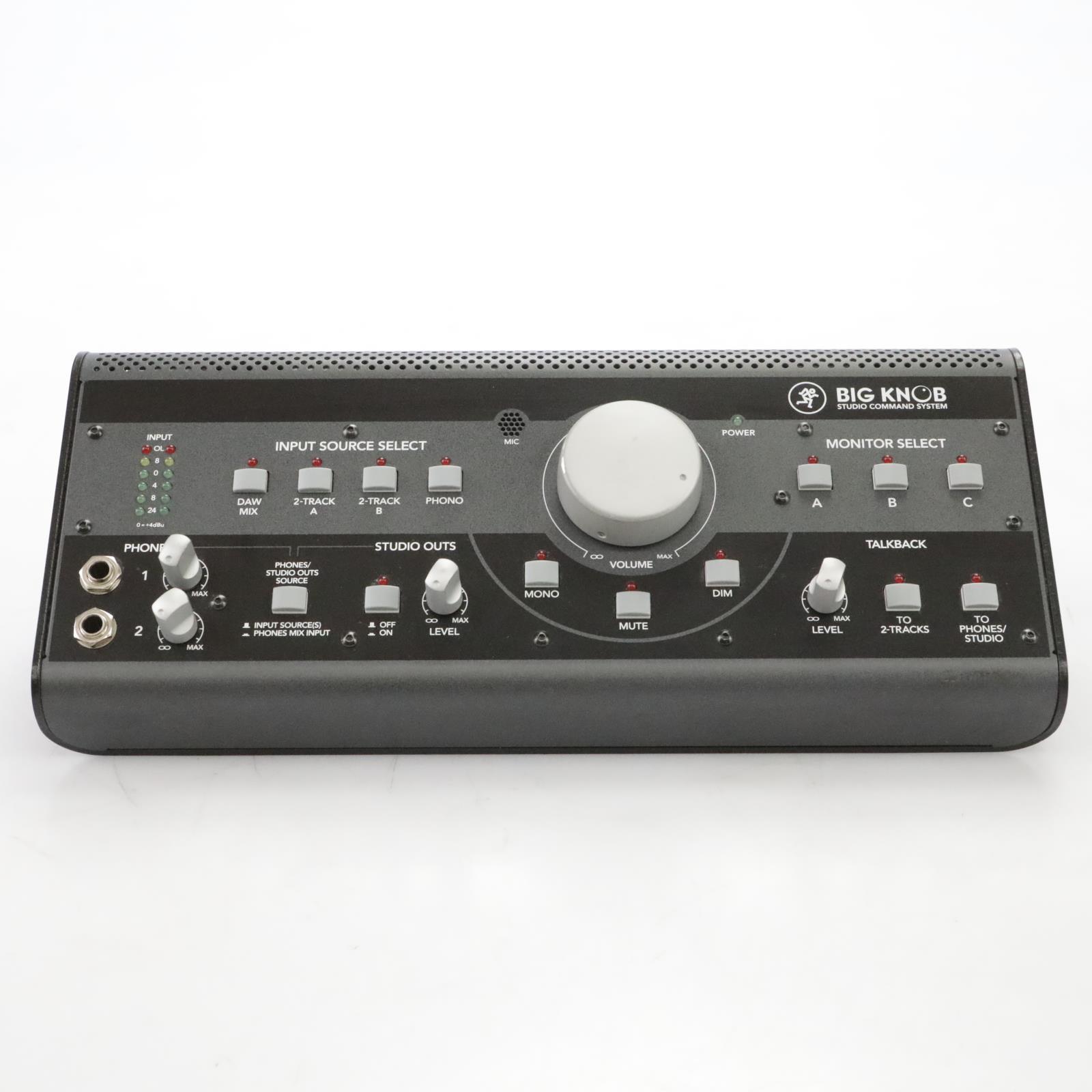 Mackie Big Knob Studio Command System Monitor Controller / Interface #44862