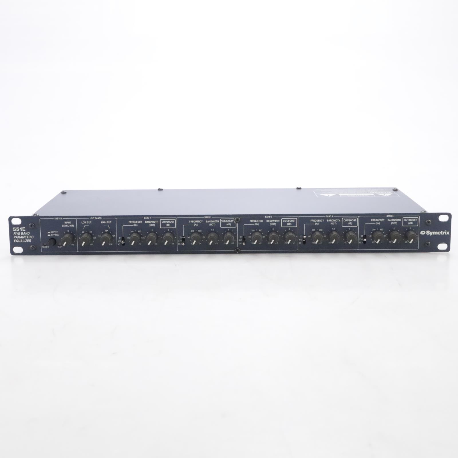 Symetrix 551E 5-Band Parametric Equalizer #44896