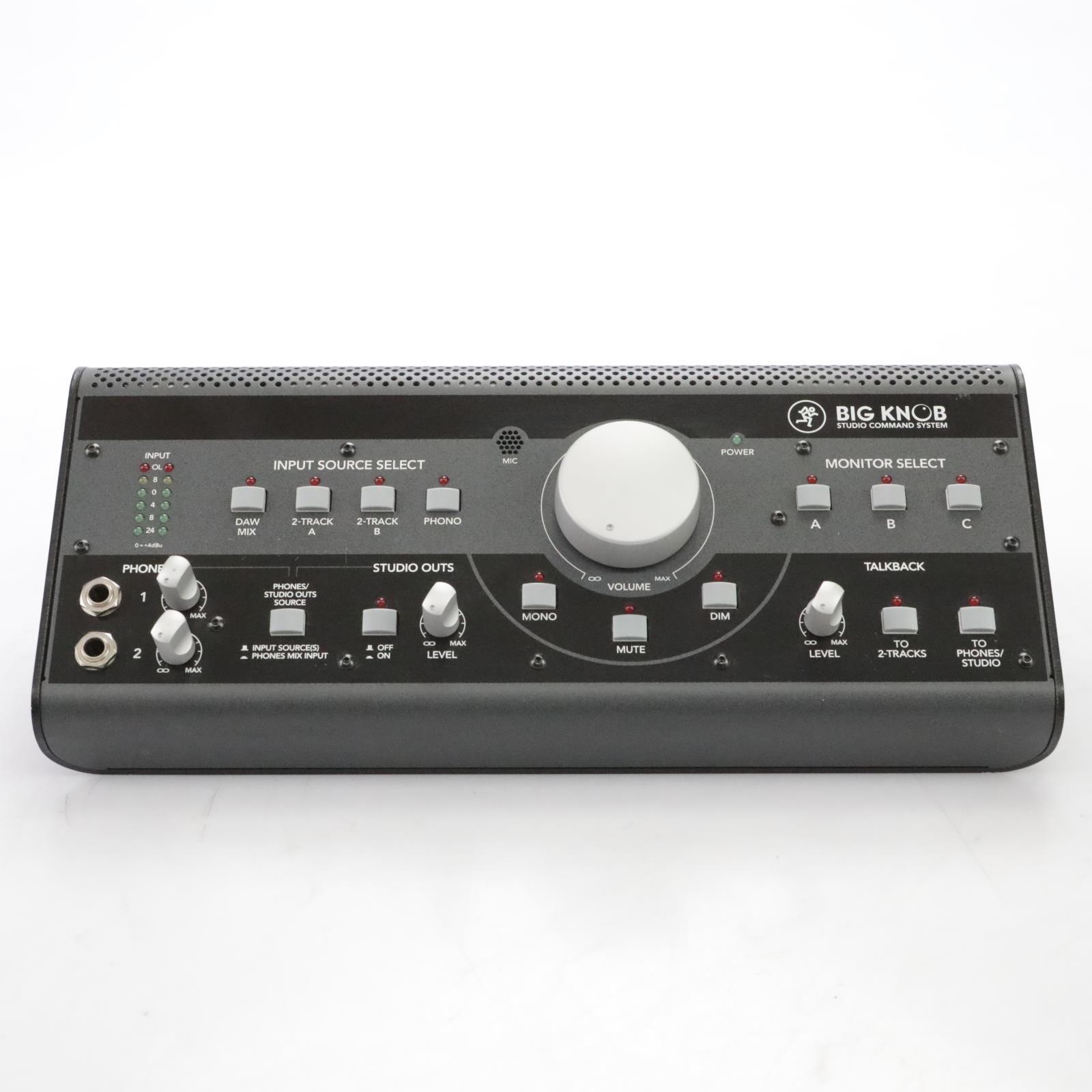 Mackie Big Knob Studio Command System Monitor Controller / Interface #44865