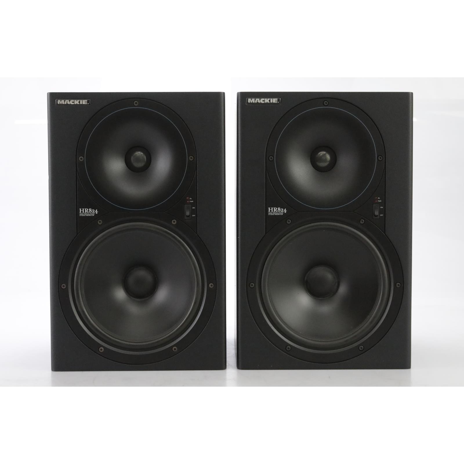 Mackie HR824 Active Studio Monitor Speakers (Pair) #44946