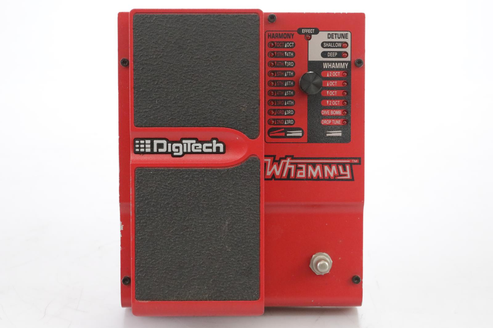 Digitech Whammy 4 Guitar Effect Pedal Owned & Signed Page Hamilton Helmet #44960