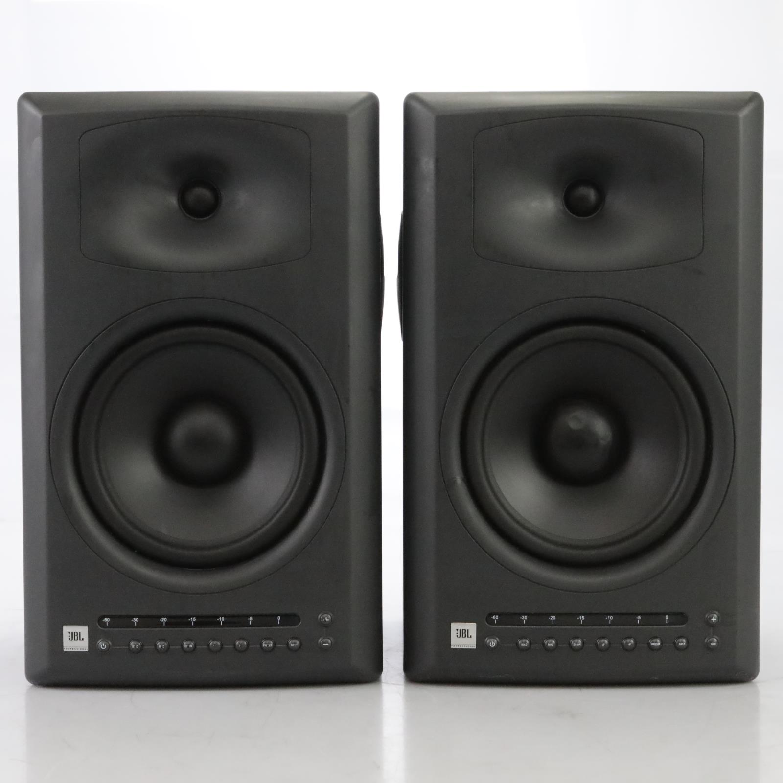 2 JBL LSR4328P Active Studio Monitors Reference Speakers #44881