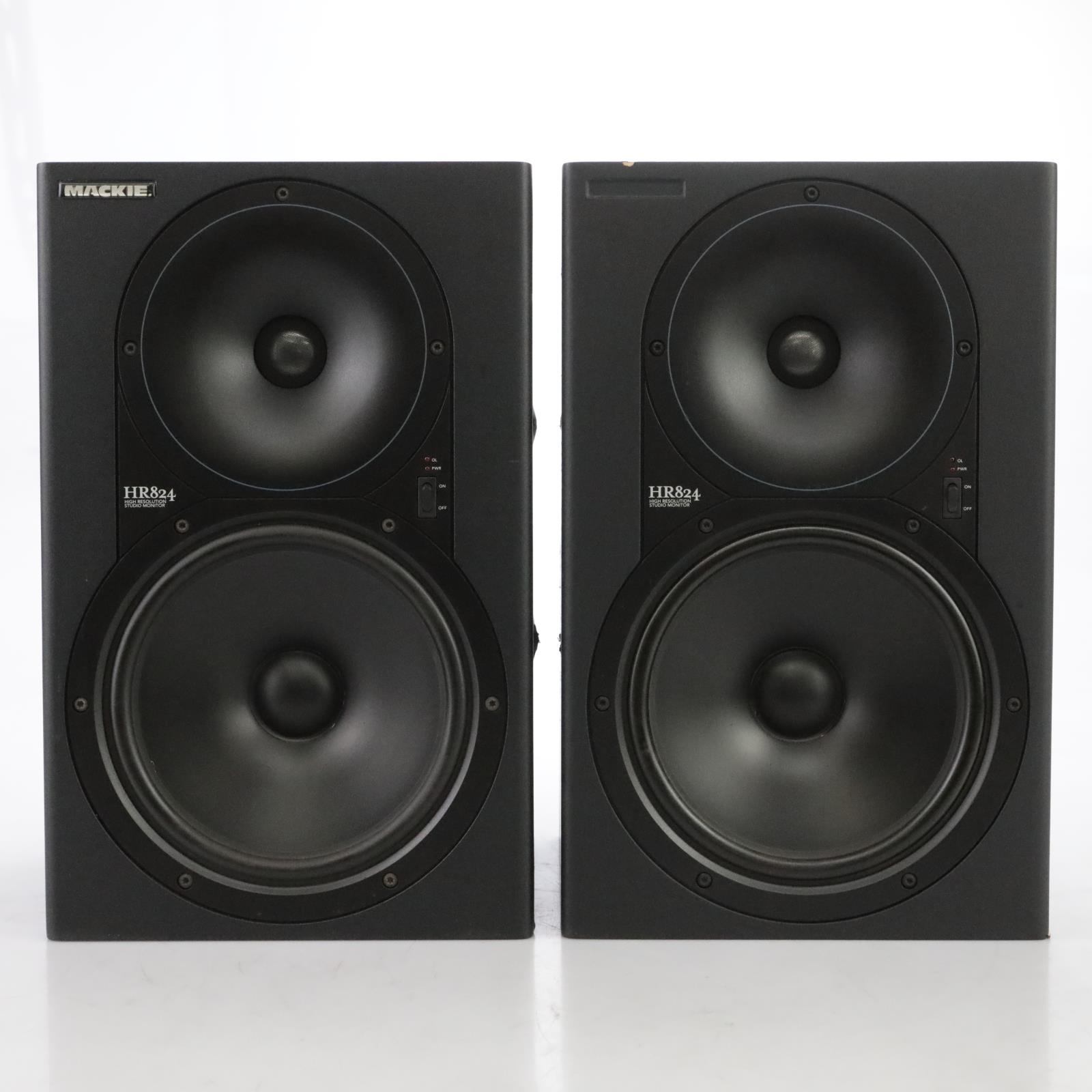 Mackie HR824 Active Studio Monitor Speakers (Pair) #44942