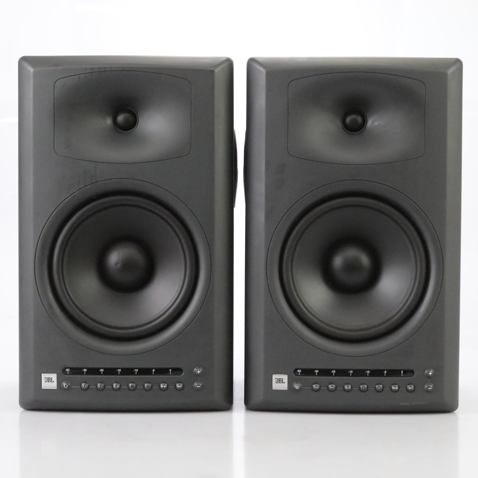 2 JBL LSR4328P Active Studio Monitors Reference Speakers #44880