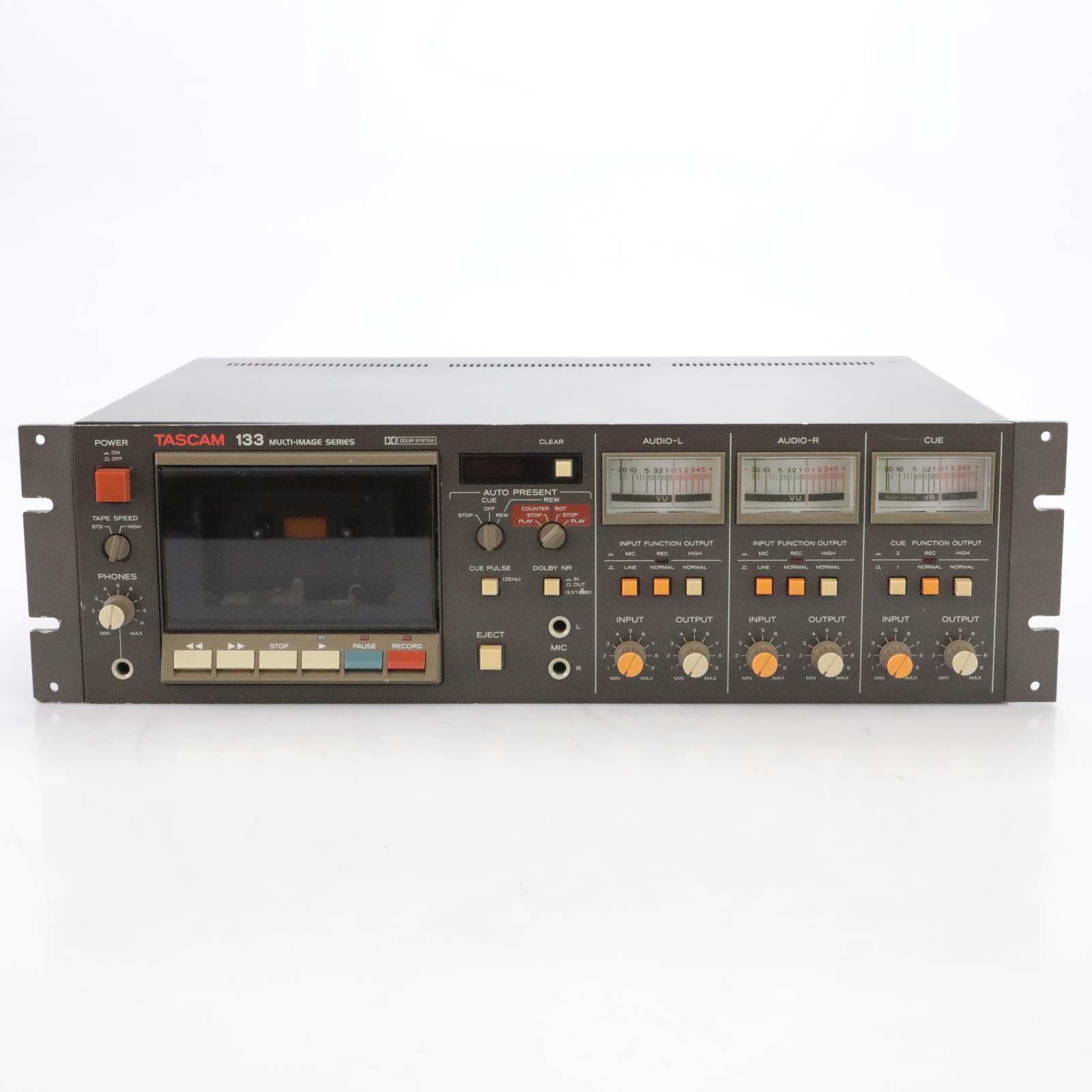 Tascam 133-B Multi-Image Series 2-Speed Cassette Deck #44987