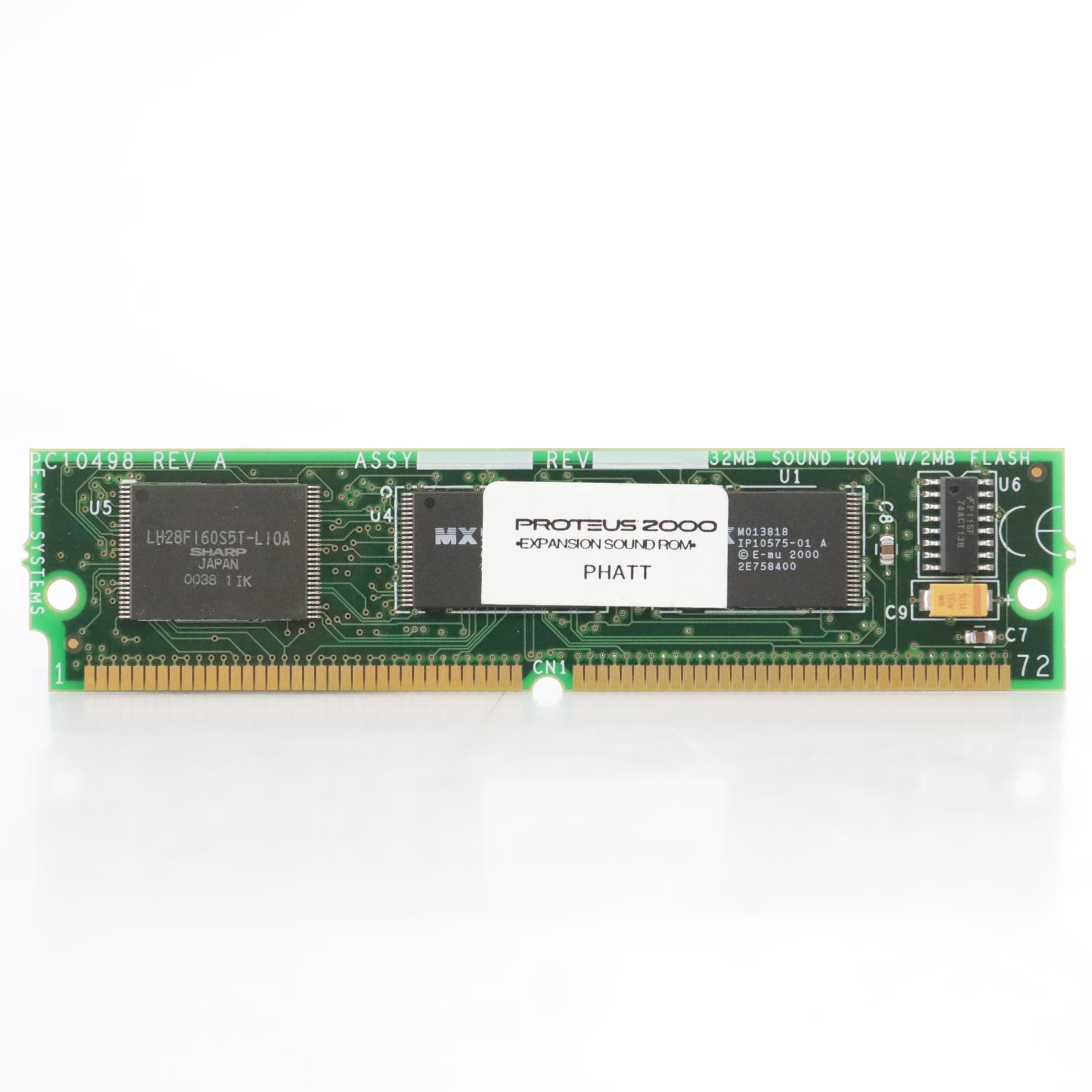 E-MU Proteus 2000 Phatt 32mb Expansion ROM Card #45007