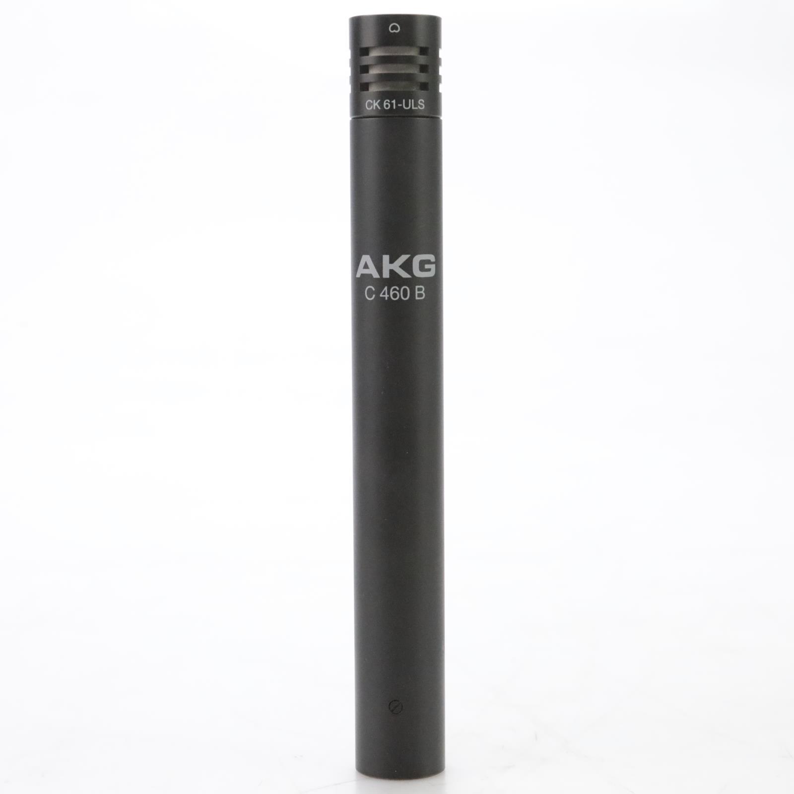 AKG C 460 B Small-Diaphragm Condenser Microphone w/ Case & Mic Clip #45019