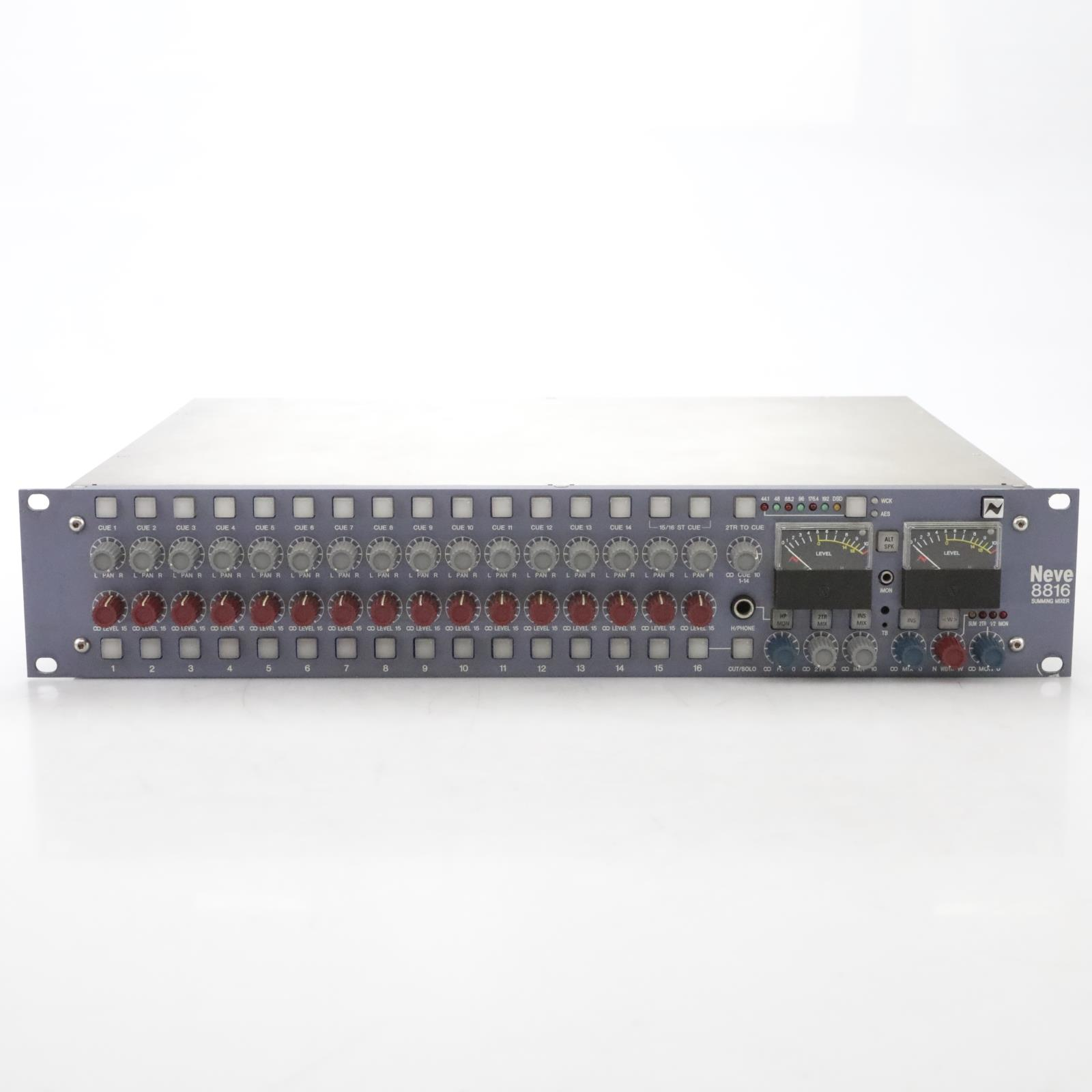 Neve 8816 16-Channel Summing Mixer w/ Power Supply #45016