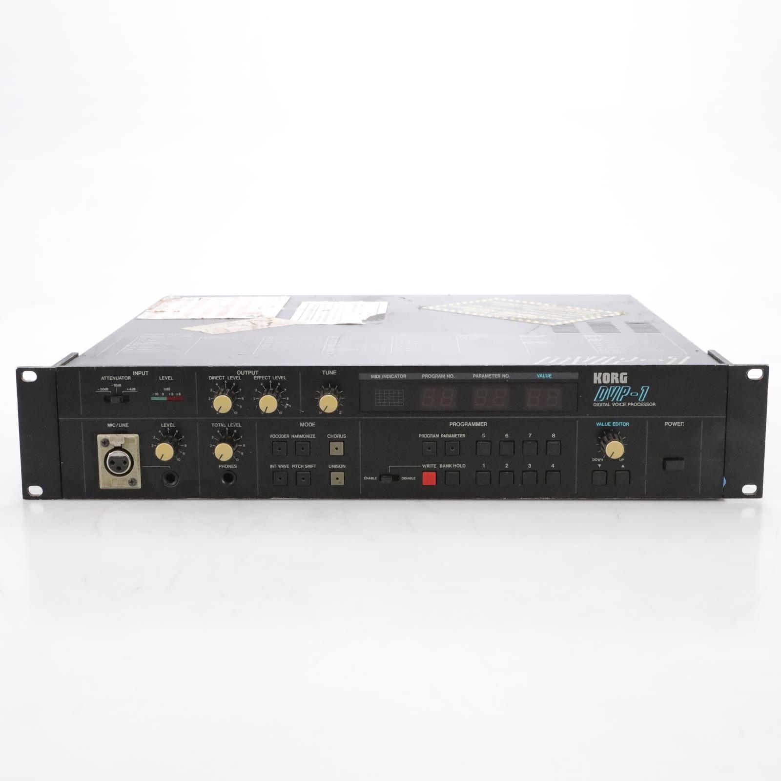 KORG DVP-1 Digital Voice Processor Vocoder Harmonizer #44837