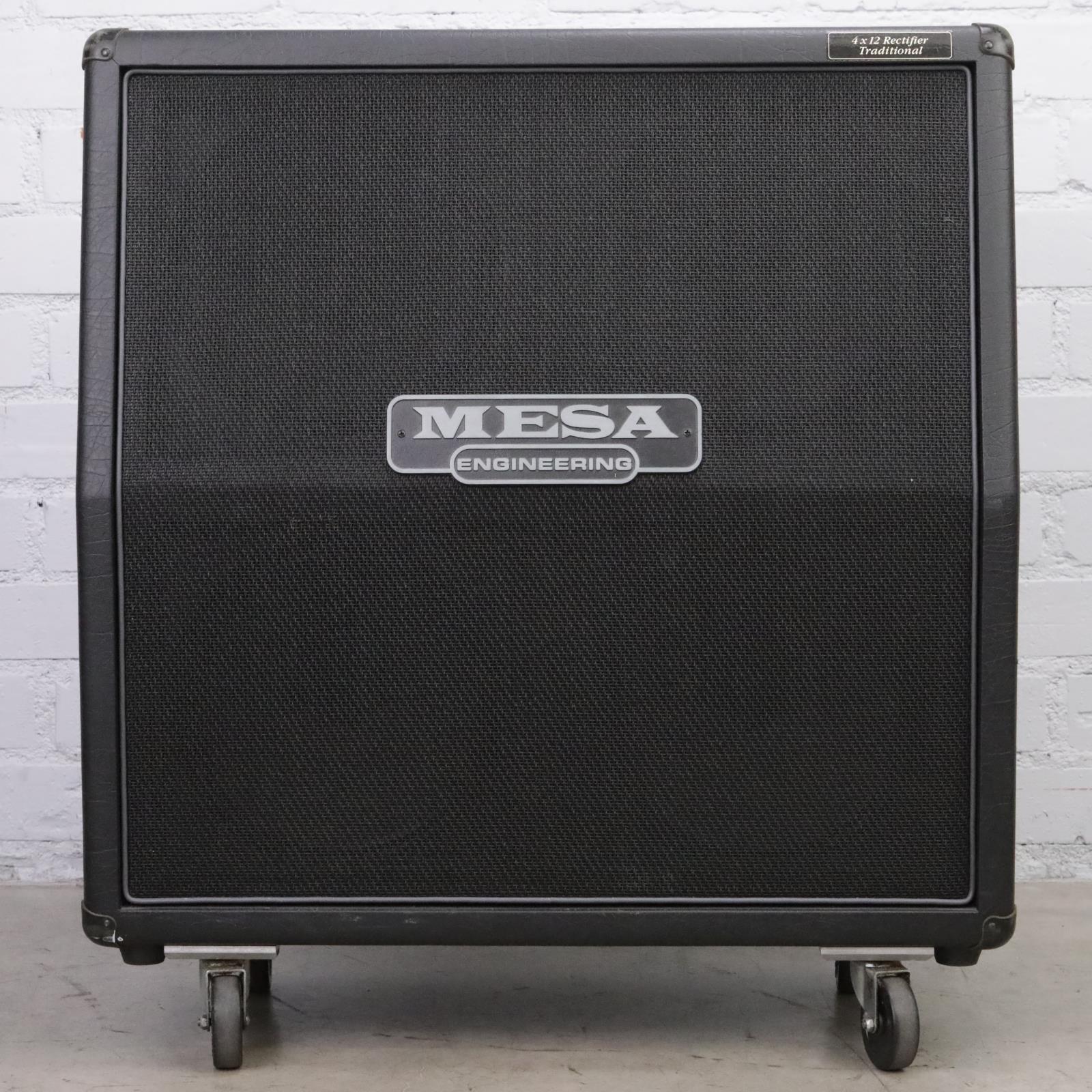Mesa Rectifier 4x12 4FB Slant Speaker Cabinet Celestion G12 Vintage 30#44989