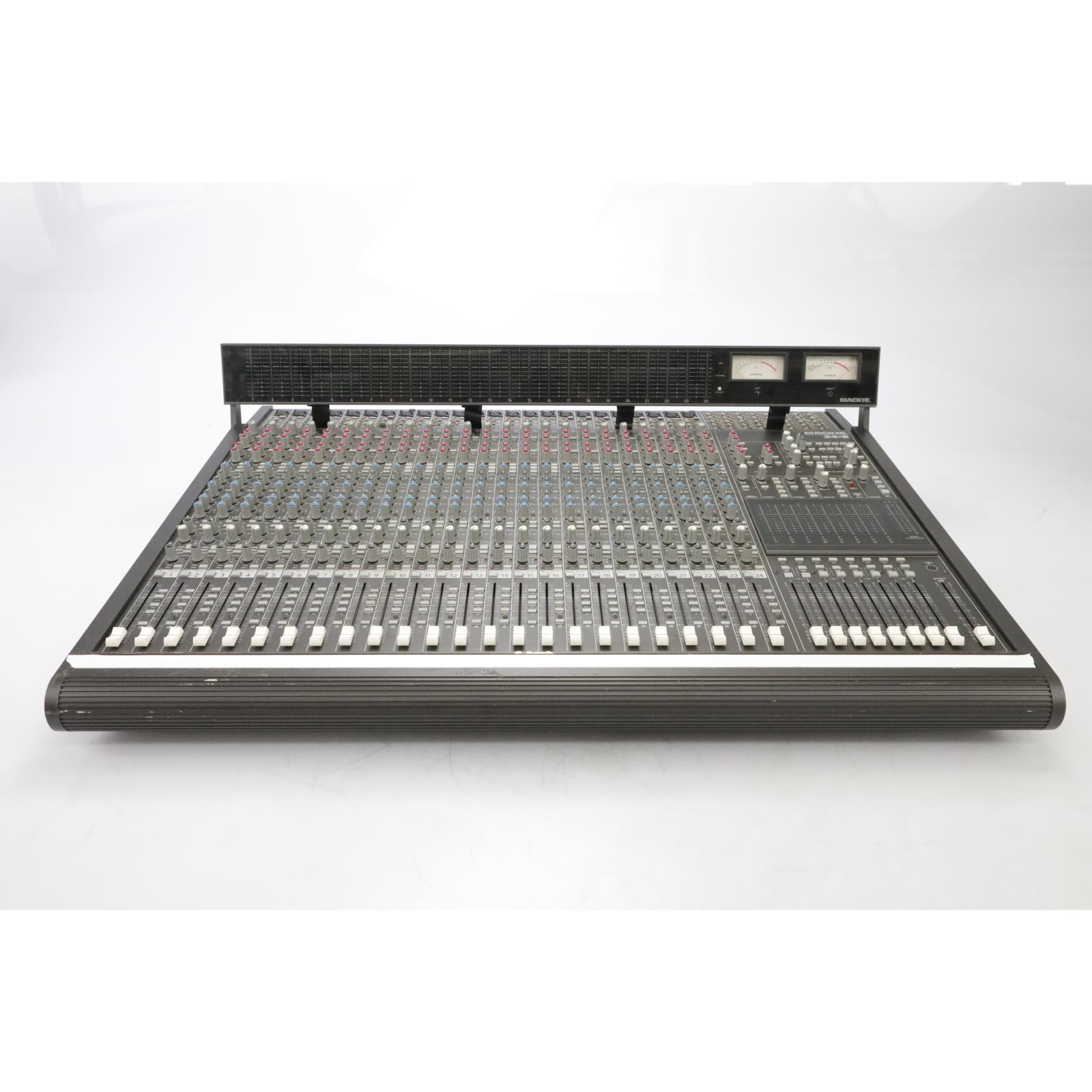 Mackie 24.8 24-Channel 8-Bus Mixing Console w/ Power Supply #45157