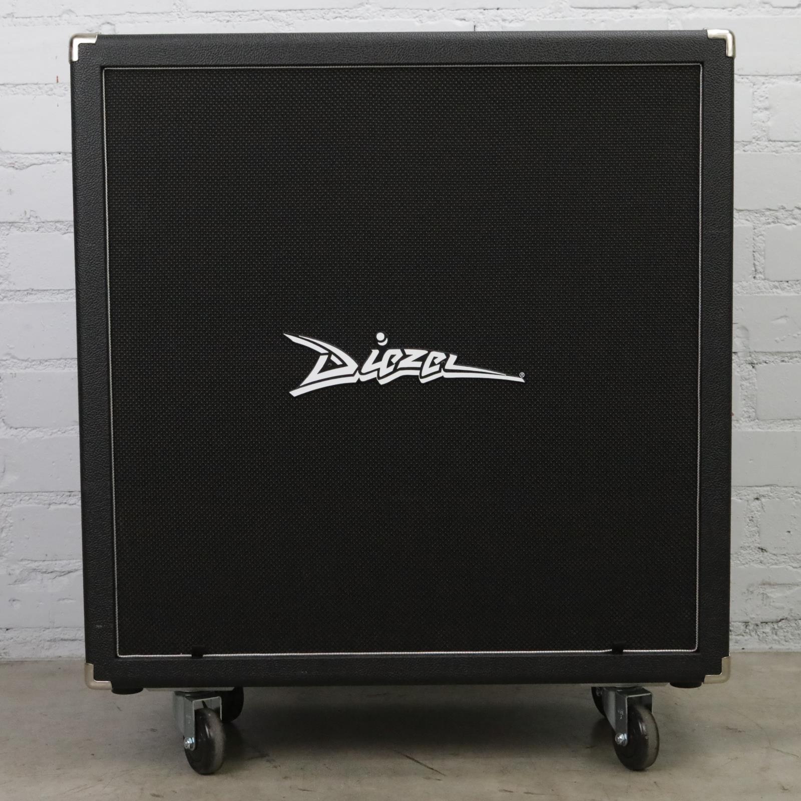 """2016 Diezel 412FK 400W 4x12"""" Front-Loaded Guitar Speaker Cabinet #45109"""